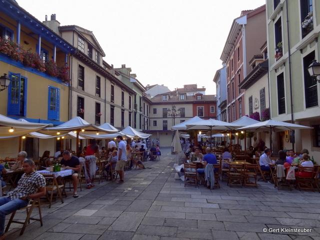 Abends in Oviedo